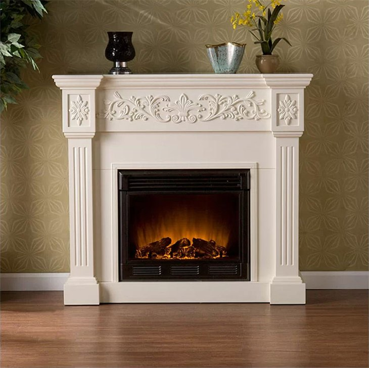 Alcott Hill Classic Fireplace