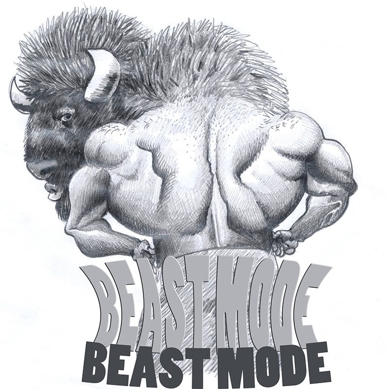 Beast Mode Printable Fitness Art