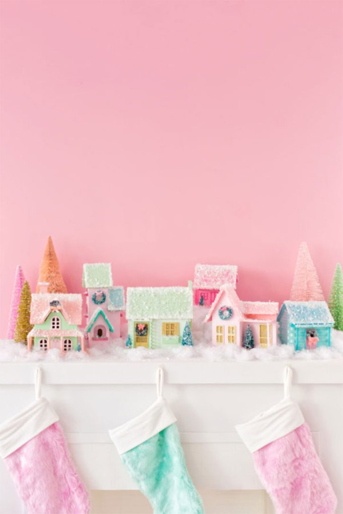 DIY Mini Christmas Village