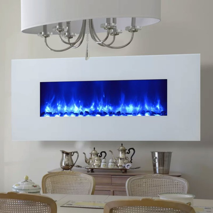 Gallaudet Wall Mounted LED Fireplace