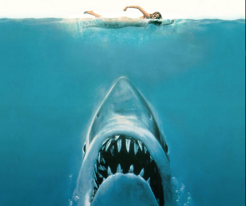 Jaws (1975) Horror Movie