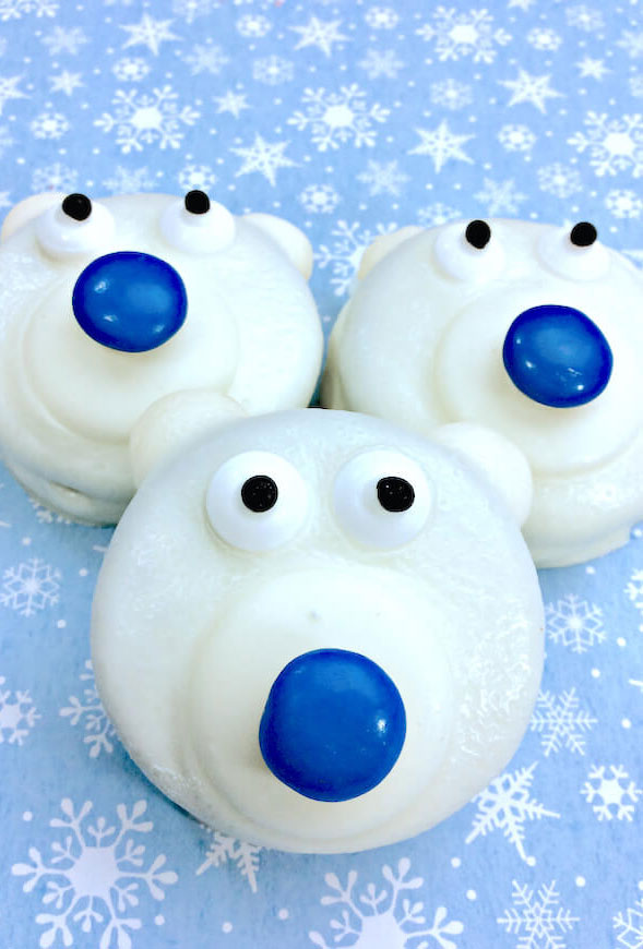 Polar Bear Oreos
