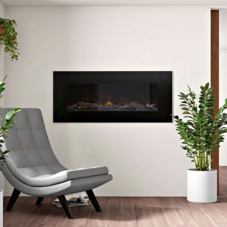 Rawlins LED Wall Mounted Electric Fireplace
