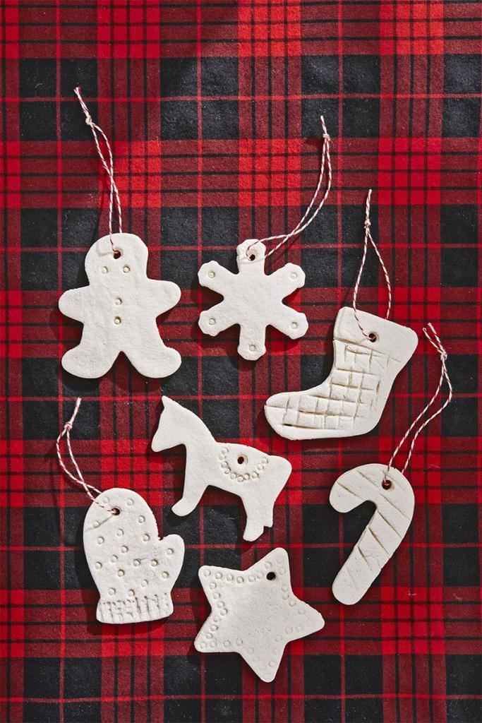 Salt Dough Christmas Ornaments | DIY Christmas Decorations