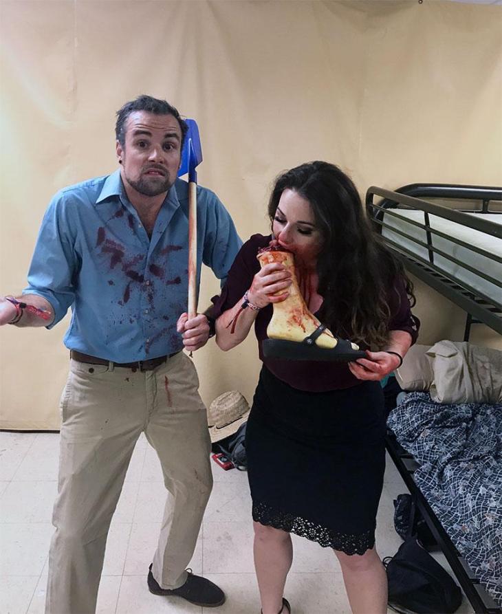 Santa Clarita Diet Couples Costume