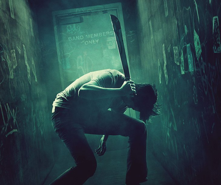 The Green Room (2015) Horror Movie