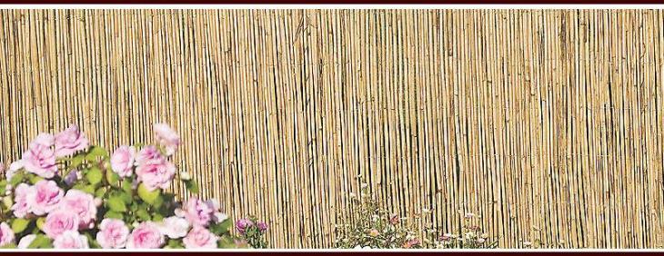 Natural Bamboo Garden Screens