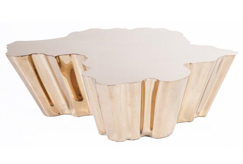 Ferdi Rose Gold Coffee Table