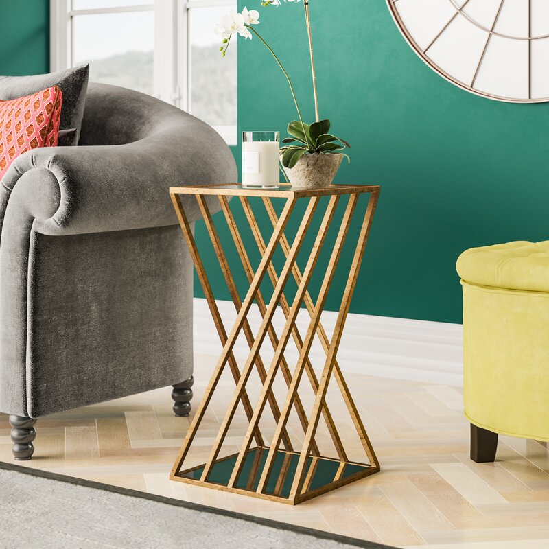 Greifenstein Gold Side Table