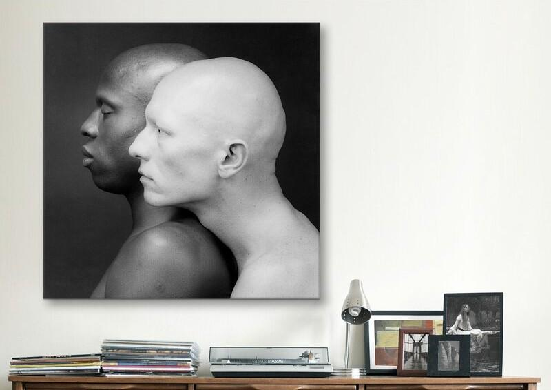 Ken Moody and Robert Sherman Robert Mapplethorpe Photographic Print on Canvas