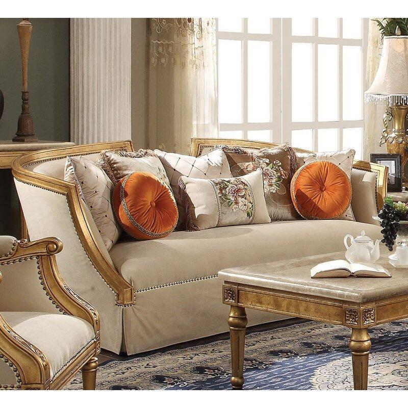 Neece Gold Sofa