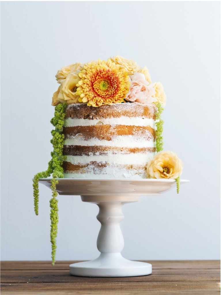 Spring Bouquet Wedding Cake