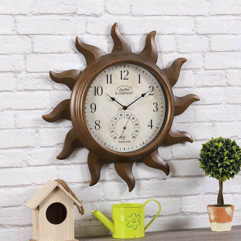 Sundeck Outdoor Wall Clock