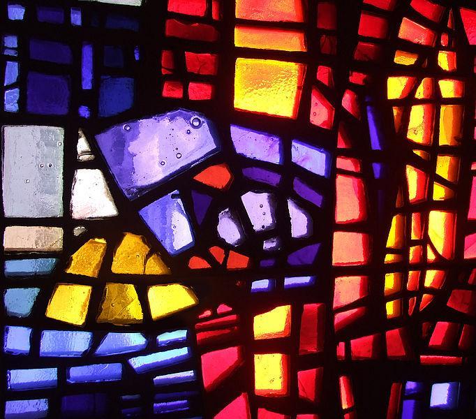 Dalle de verre Art Glass Panel Example