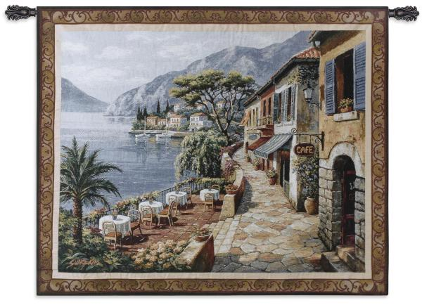Overlook Cafe ll by Sung Kim | Art Tapestry | 44 x 53