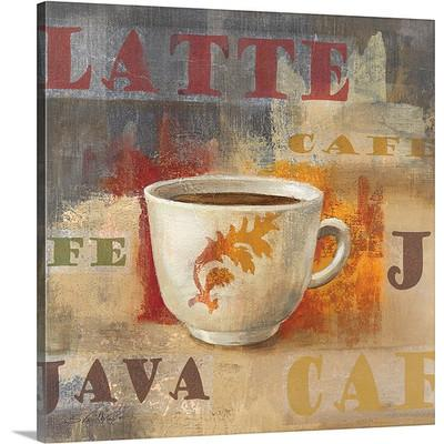 Urban Cafe IV by Silvia Vassileva Coffee Art Print