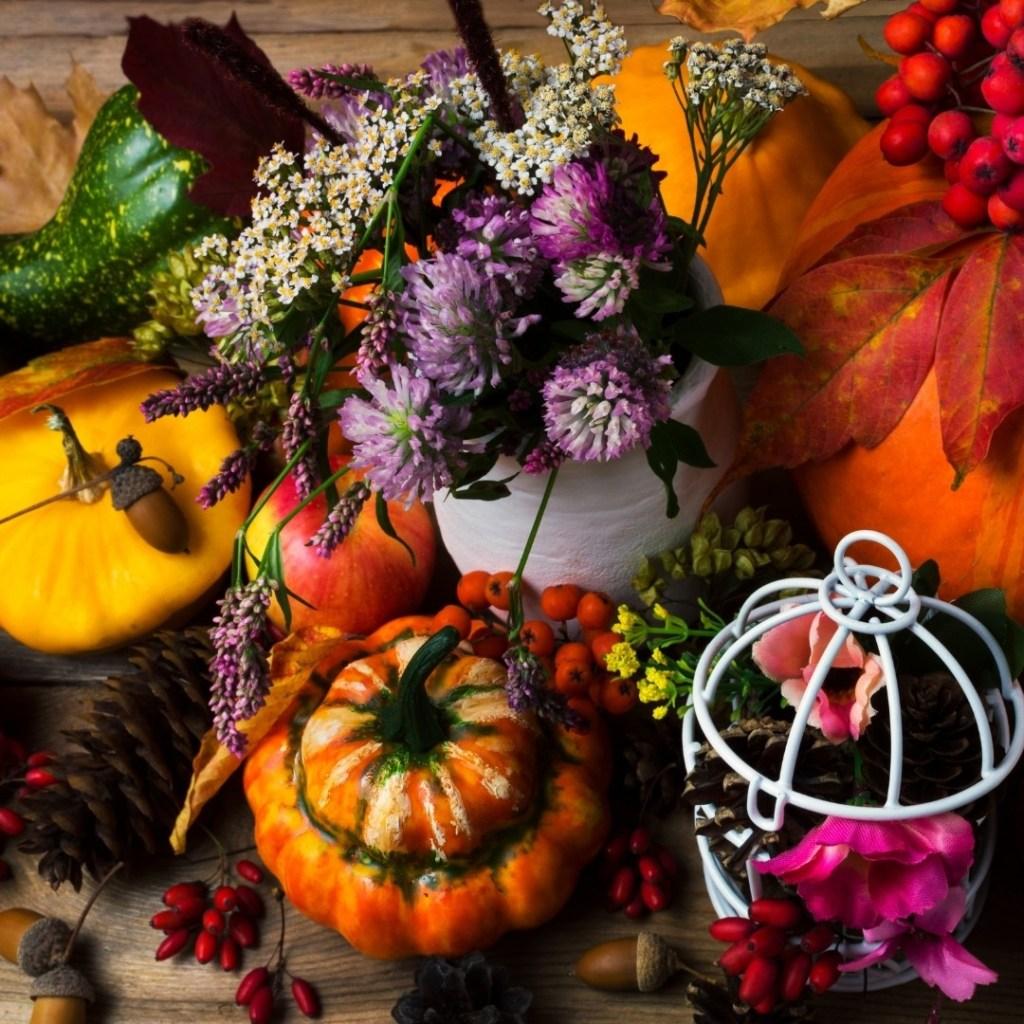 Colorful Fall Decor