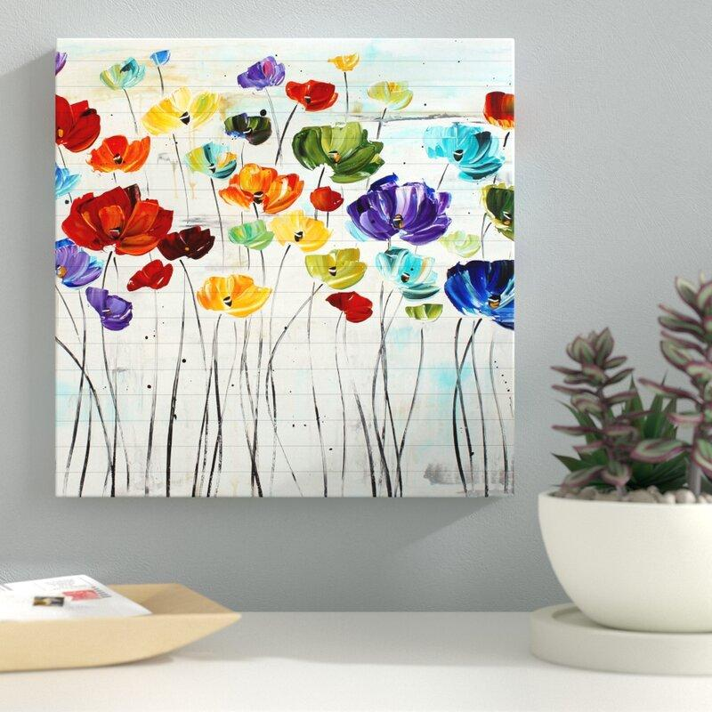 Lilies Graphic Art Print