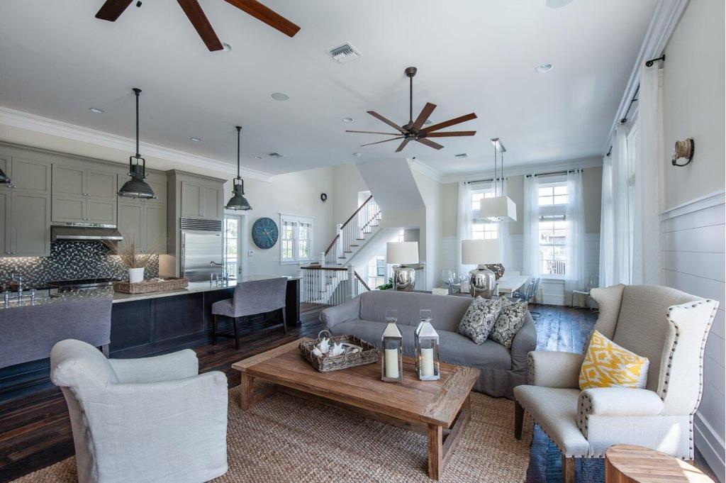 Living Room Nautical Design