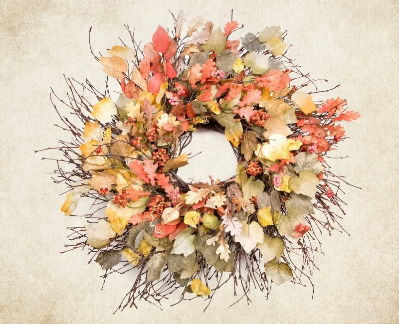 Pastel Fall Wreath