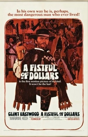 Classic Movie Poster - A Fistful of Dollars (1964)