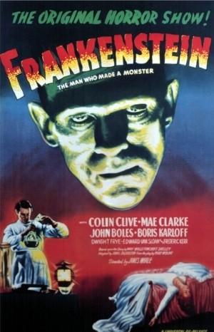 Classic Movie Poster - Frankenstein (1931)