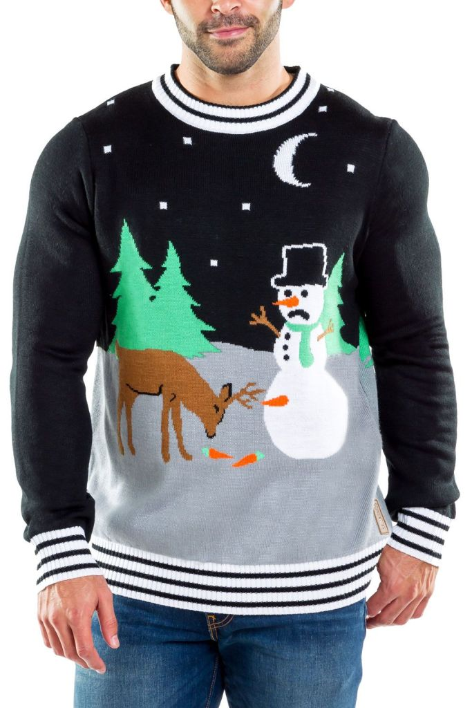 Don't Eat The Carrot Ugly Christmas Sweater