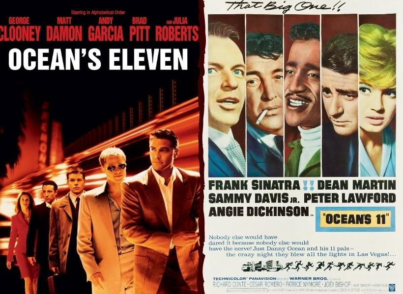 Movie Remake vs Original Ocean's Eleven