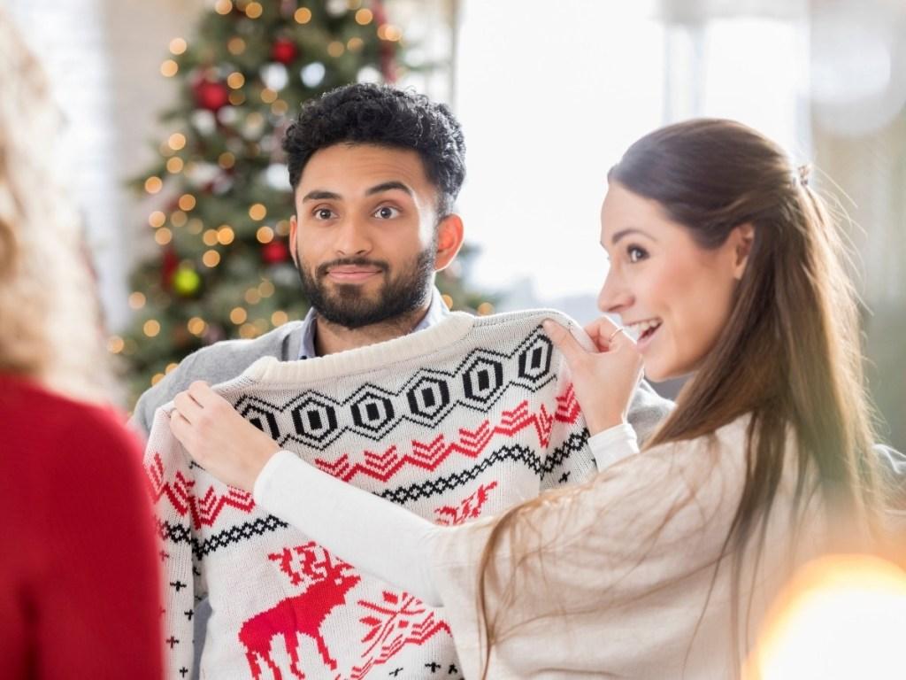 Ugly Reindeer Christmas Sweater
