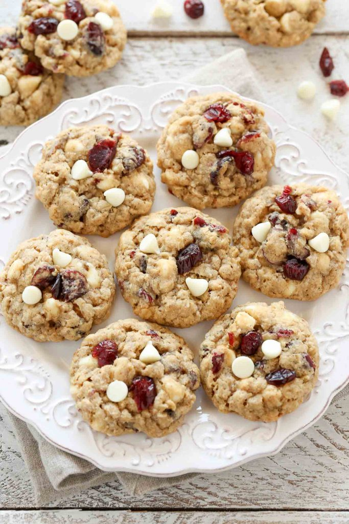 Best Christmas Cookies - Oatmeal Cranberry