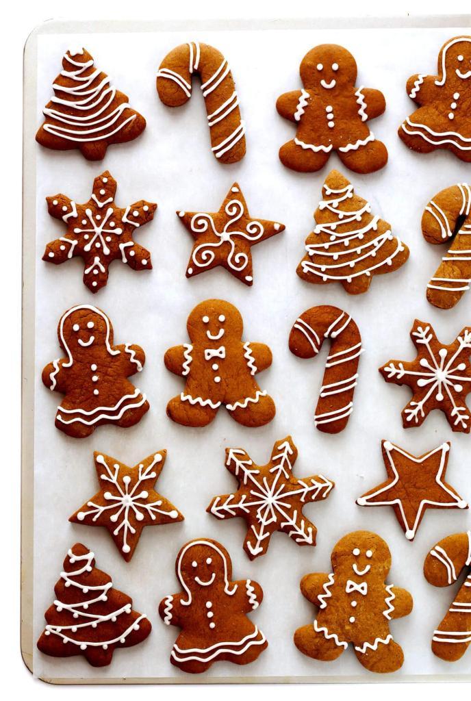 Best Christmas Gingerbread Cookies