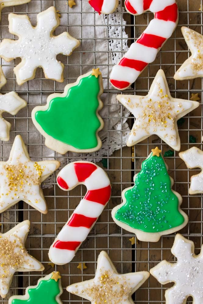 Best Sugar Cookies With Icing
