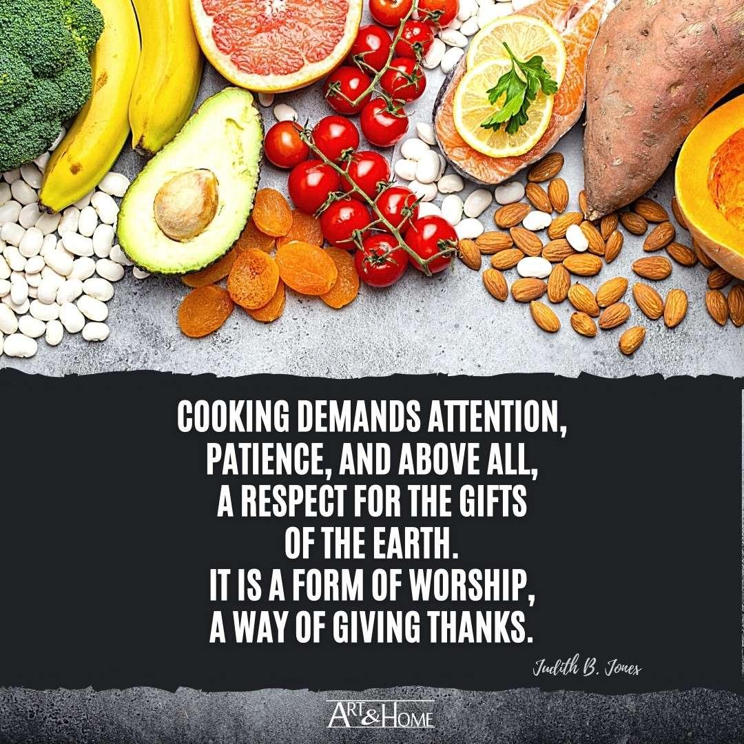 Judith B. Jones Cooking Quote