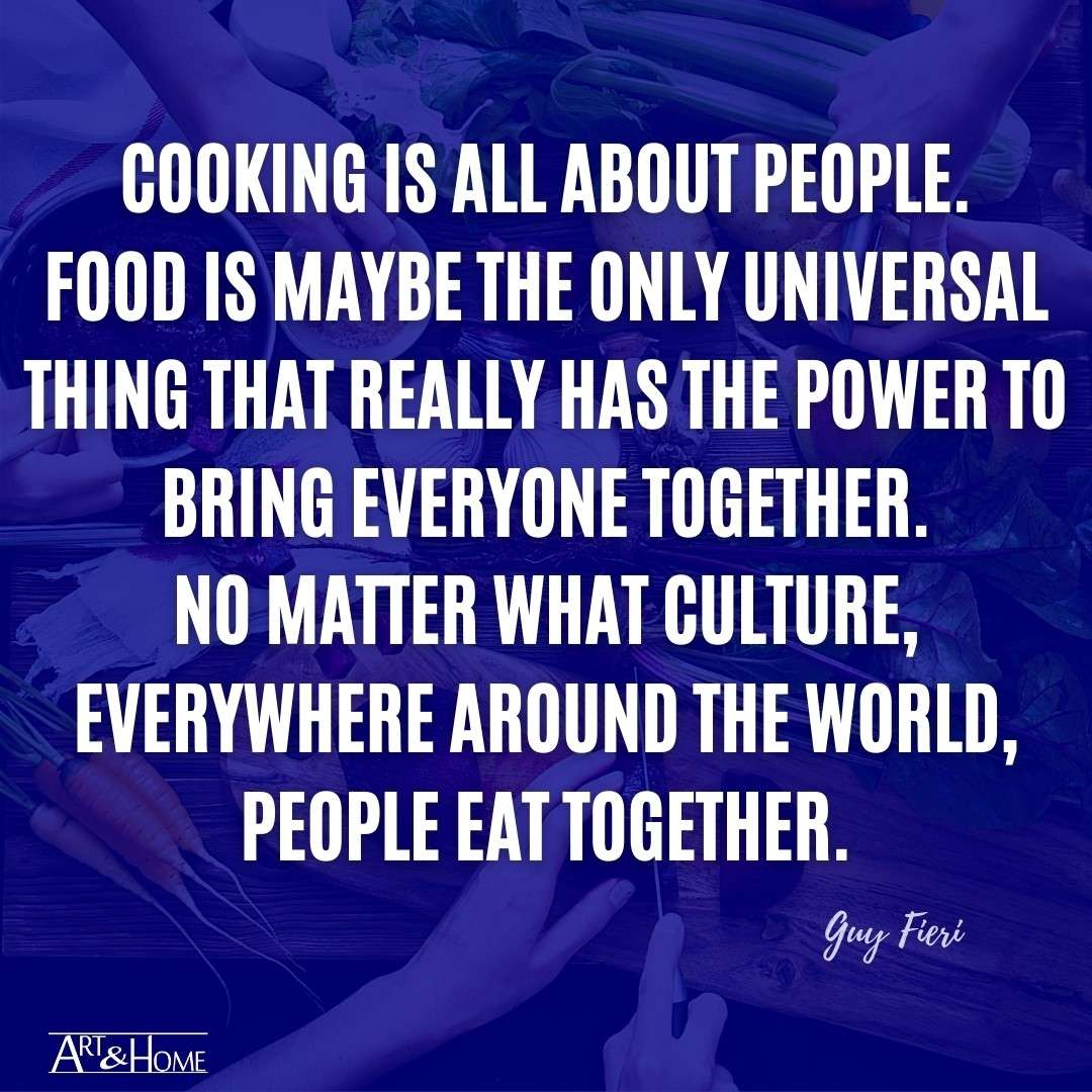Cooking is About People | Guy Fieri Food Quote