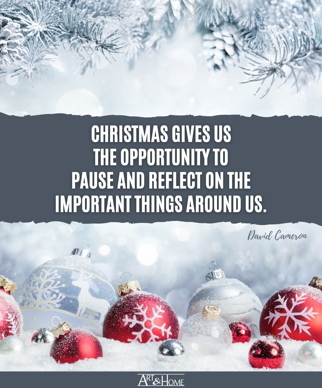 David Cameron Christmas Saying