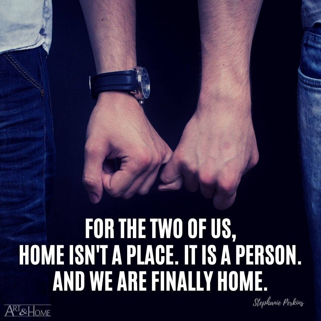 Gay Couple Home Quote Meme