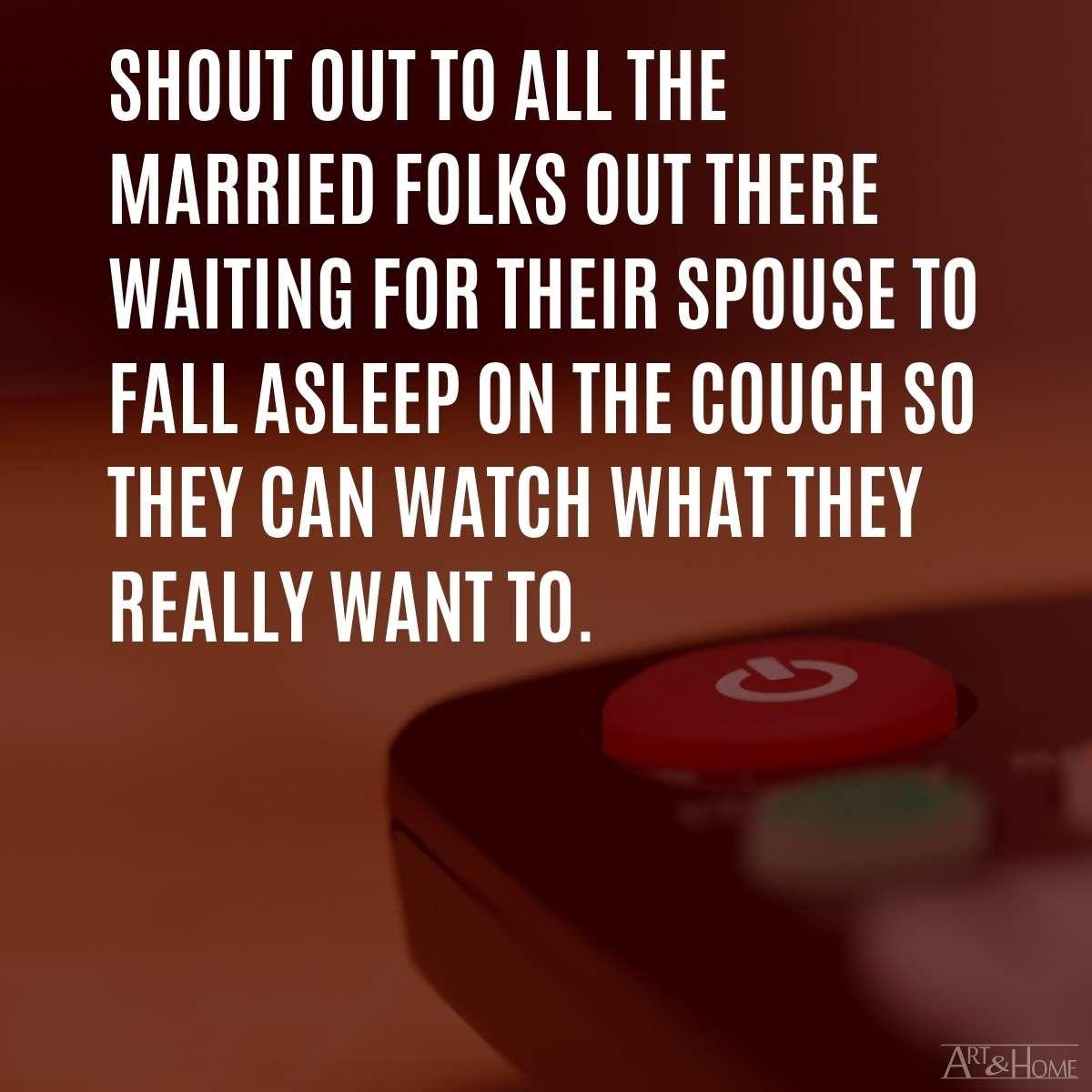 Marriage Remote Control MEME