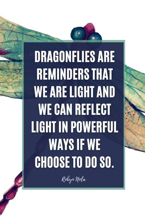 Robyn Nola Dragonfly Quote
