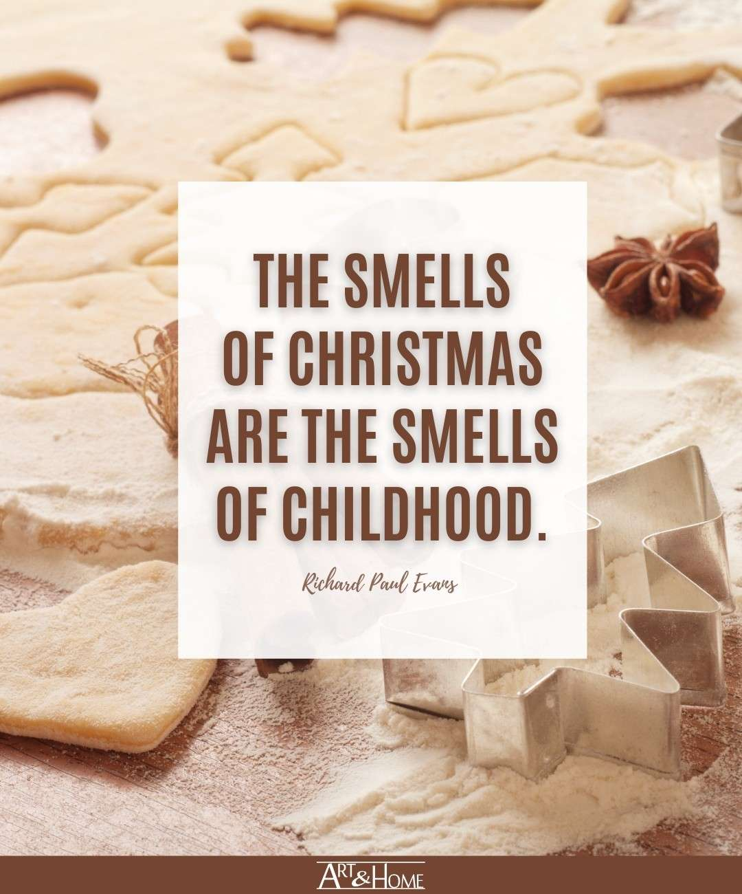 Smells of Christmas Quote