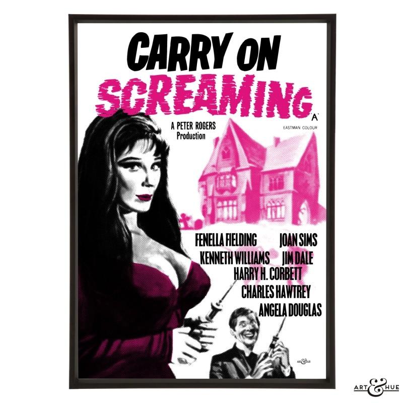 Carry On Screaming Stylish Pop Art Bespoke Amp Custom