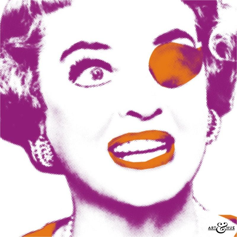 The Anniversary Bette Davis Stylish pop art by Art  Hue