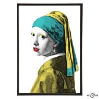 Girl with a Pearl Earring - Stylish Pop Art - Bespoke ...