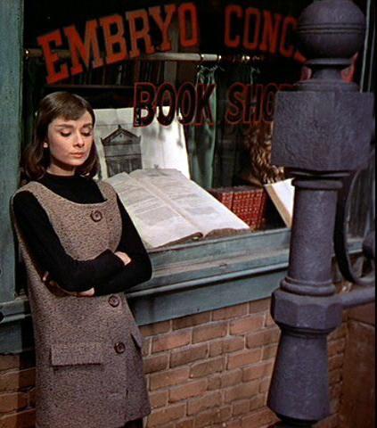 Audrey in Greenwich Village