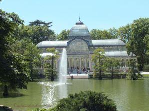 Madrid Retiro Park Cristal Palace