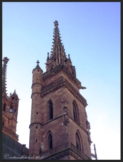 Basel Walking Tour January 2015 _ Münster tower