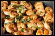 Honey-Garlic-Shrimp-Skillet
