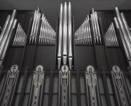 Cathedral of Christ the King, Lexington, KY. Organ pipes. Photos courtesy of the parish and MoTyme Photography.