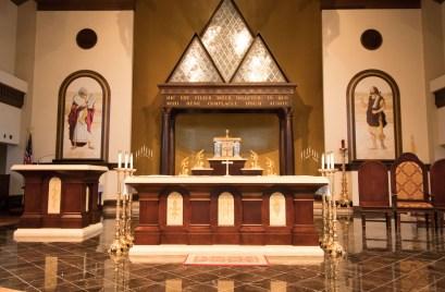 Holy Trinity Church (Gainesville, VA). Photo provided by parishioner Geraldine Erikson.
