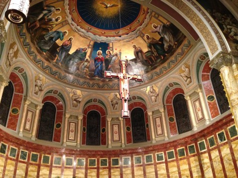 St. John's Seminary Chapel (Boston, MA). Apse. Photo from seminary website.