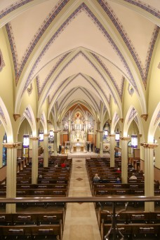 St. Mary Church (David City, NE). Nave. Photo from website of Clark Architects Collaborative 3.